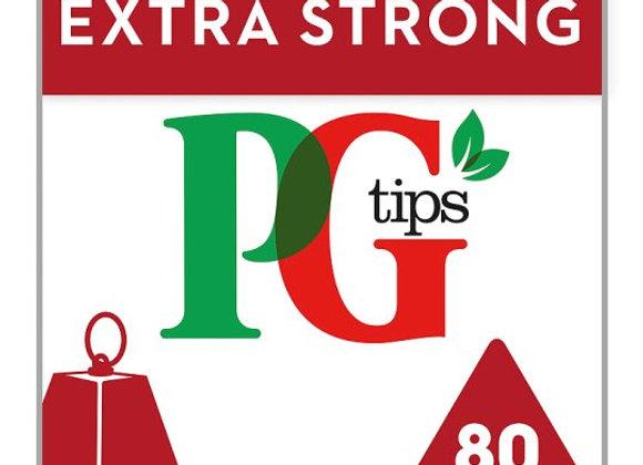 Pg Tips Pyramid Strg 80 Tea Bags 232G