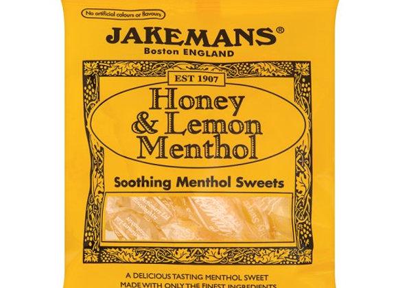 Jakemans Honey,Lemon And Menthol 100G