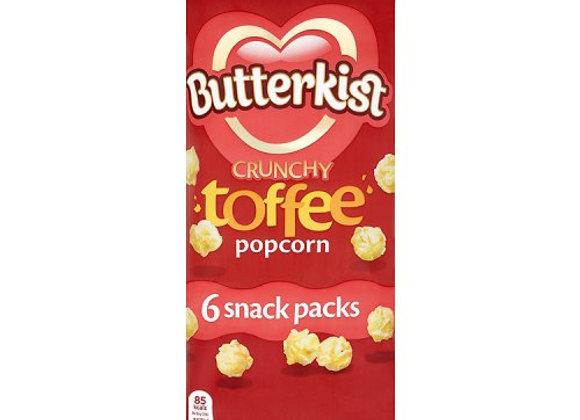 Butterkist Popcorn Toffee 6 x 25g