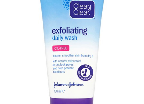 Clean And Clear Exfoliating Daily Wash 150Ml