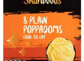 Sharwood's 8 Plain Poppadoms Cook to Eat