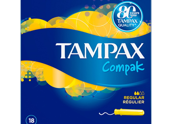 Tampax Compak Regular Tampons Applicator 20