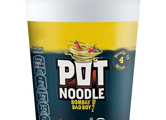 Pot Noodle Spicy Bombay Bad Boy 90g
