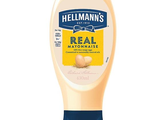 Hellmann's Squeezy Mayonnaise 430ml
