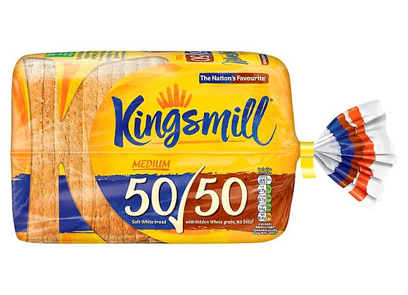 Kingsmill 50/50 Bread 800g