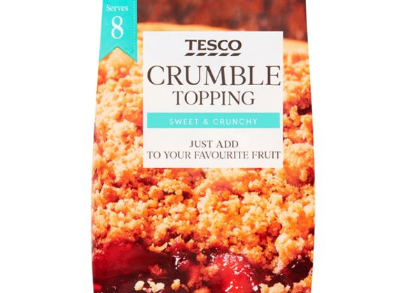 Tesco Family Sized Crumble Topping 450g
