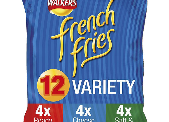 Walkers French Fries Variety Pack of 12