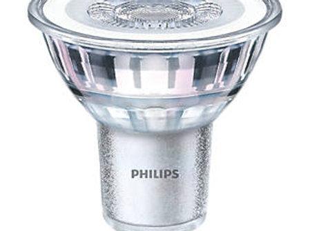 Pack of 6 Philips LED Classic 4.6 W GU10 Glass LED Spot Light