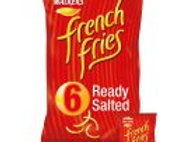 Walkers French Fries Ready Salted Crisps 6x18g