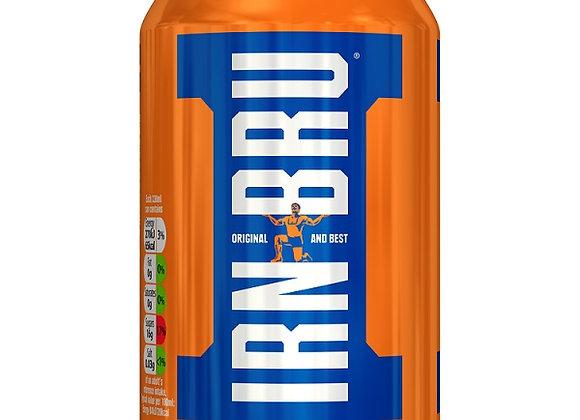 IRN-BRU Can 330ml or 24 Case