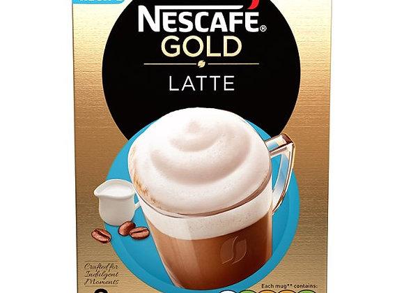 NESCAFÉ GOLD Latte Coffee, 8 Sachets x 19.5g VARIOUS FLAVOURS