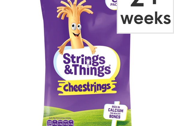 Cheestrings 8 Pack Cheddar 160g
