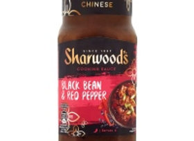 Sharwood's Black Bean & Red Pepper Chinese Cooking Sauce