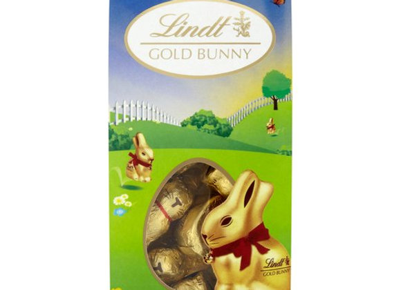 Lindt Gold Milk Chocolate Easter Bunny Carton 100G