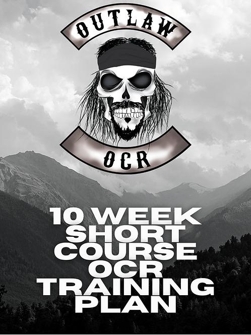 10 Week Short Course OCR Training Plan (KILOMETERS)
