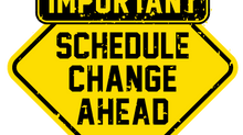 Important Change December Meeting