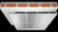 SAPP_metalické stropní vytápění_chlazení