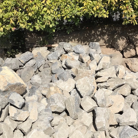 BASALT WALL ROCK