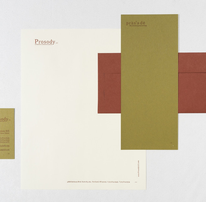 Prosody Identity Collection