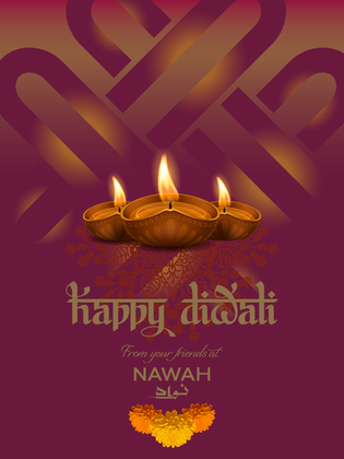 NAWAH Diwali Greeting
