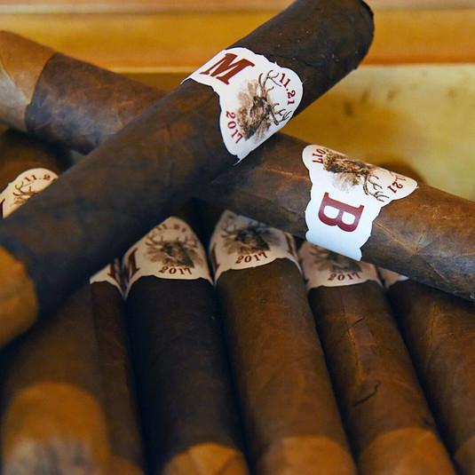 Meghan McCain and Ben Domenech Cigar Labels