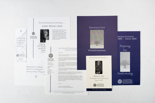 Spiritual Lecture Series Collateral