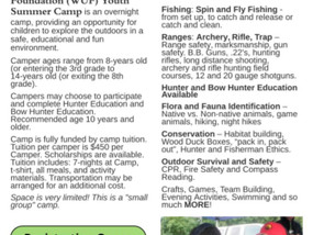 WILDERNESS UNLIMITED YOUTH CAMP