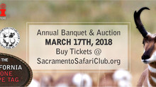 Sacramento Safari Club 39th Annual Fundraiser