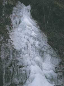 2006年 払沢の滝凍結