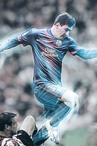 Messi vs Bilbao wallpaper
