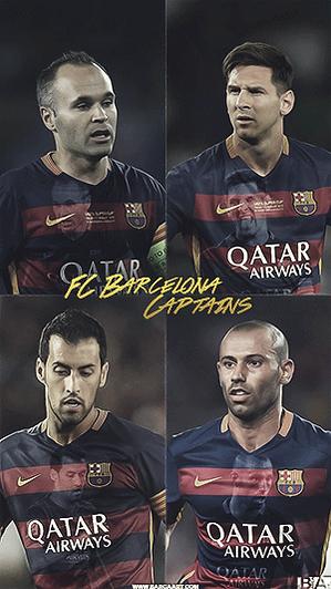 FC Barcelona captans wallpaper