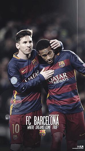 Messi Neymar idol wallpaper