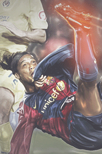 Ronaldinho bicycle wallpaper