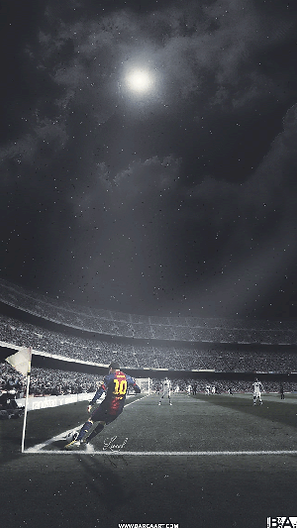 Messi corner kick wallpaper