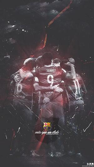 Barca Team celebration wallpaper