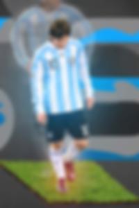 Messi font wallpaper