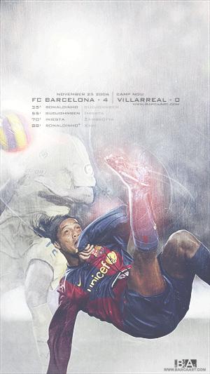 Ronaldinho bicycle kick goal wallpaper