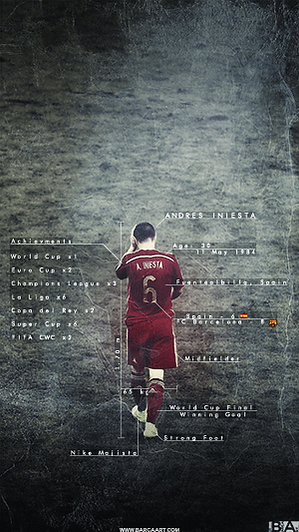 Iniesta Spain overview wallpaper