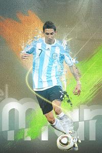 Di Maria argentina wallpaper