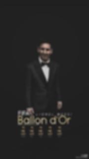 Messi Ballon d'or trophies wallpaper