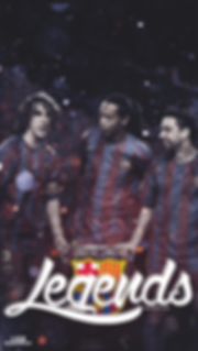 Barca legends Puyol Ronalidnho Xavi wallpaper