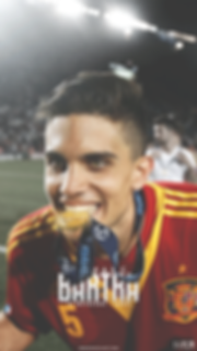 Bartra Spain gold medal wallpaper
