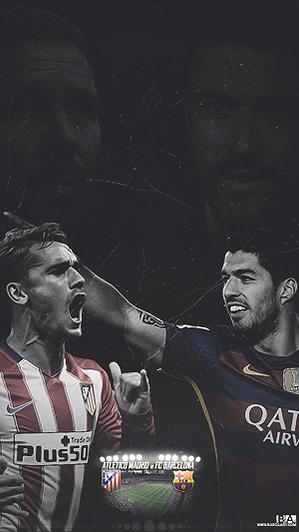 Barcelona vs Atletico Madrid wallpaper
