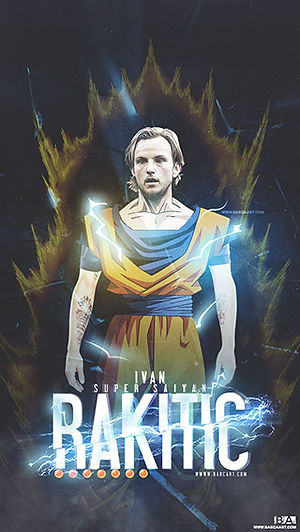 Ivan Rakitic Dragon Ball Z wallpaper