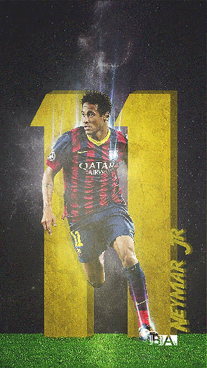 Neymar number 11 wallpaper