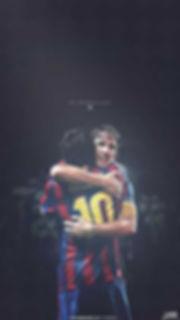 Messi puyol wallpaper