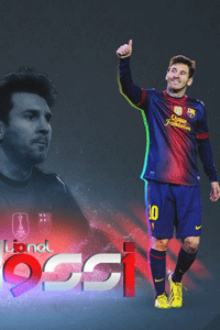 Messi record year wallpaper