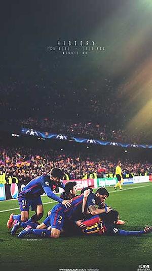 Barca History PSG