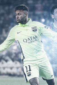 Neymar Messi celebration wallpaper