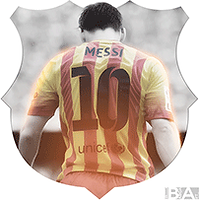 Messi Back Avatar